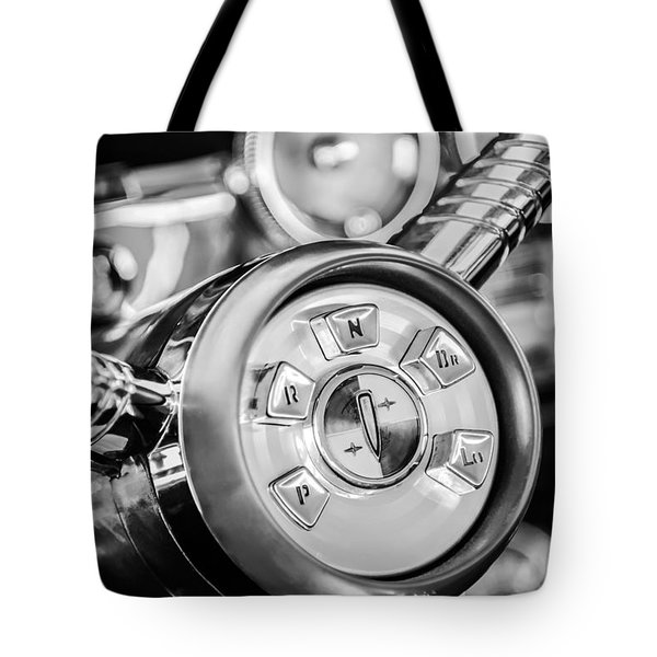 1958 Edsel Ranger Push Button Transmission 2 Tote Bag by Jill Reger