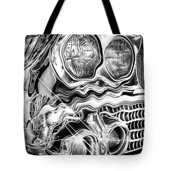 1958 Impala Beauty Within The Beast Tote Bag by Peter Piatt