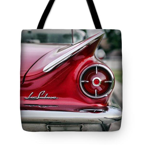 1960 Buick Lesabre Tote Bag by Gordon Dean II