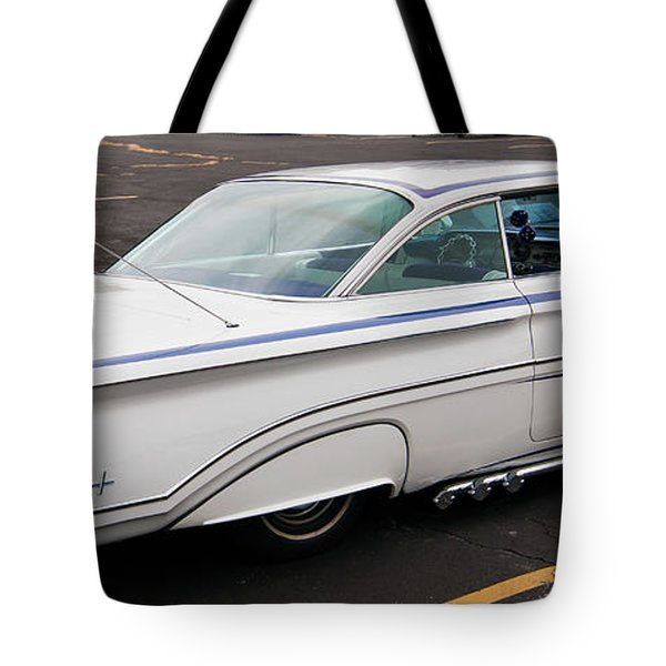 1960 Olds Eighty Eight 2023 Tote Bag by Guy Whiteley