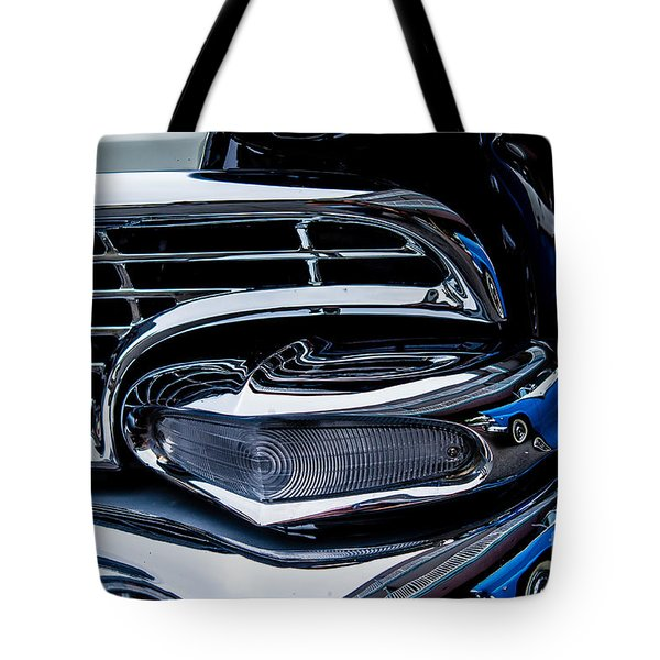 Tote Bag featuring the photograph 1958 Ford Crown Victoria by M G Whittingham
