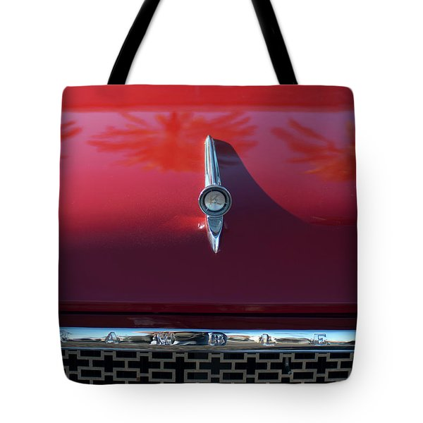 1961 Rambler Hood Ornament 2 Tote Bag by Jill Reger