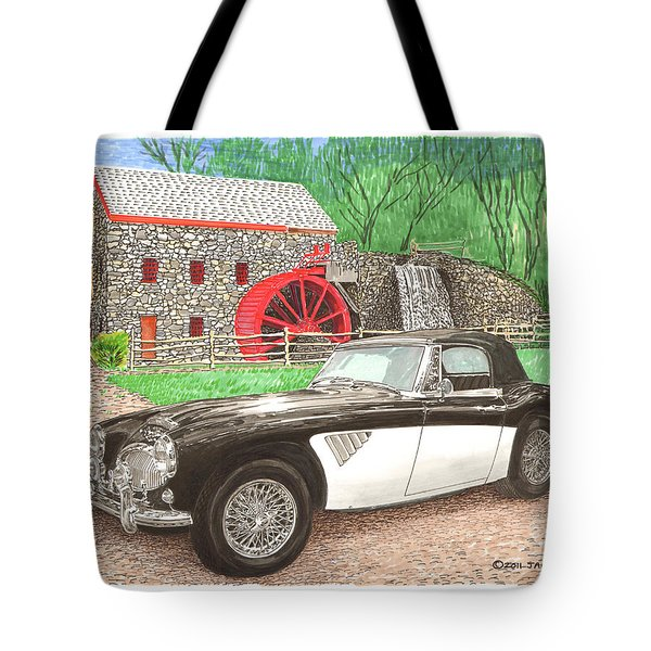 1963 Austin and Sudbury Mill Tote Bag by Jack Pumphrey