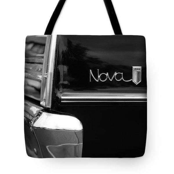 1966 Chevy Nova II Tote Bag by Gordon Dean II