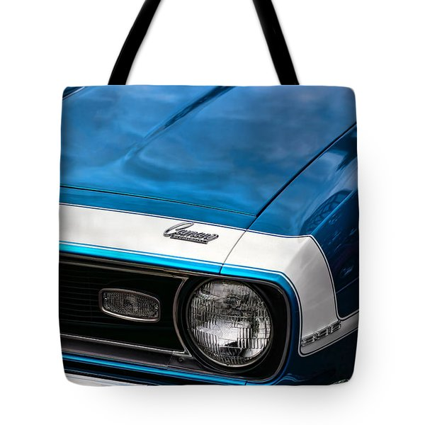 1968 Chevy Camaro Ss 396 Tote Bag by Gordon Dean II