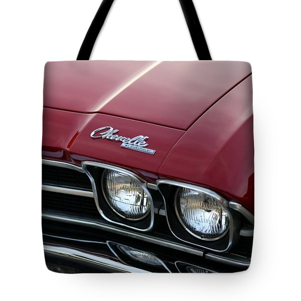 1968 Chevy Chevelle Ss Tote Bag by Gordon Dean II