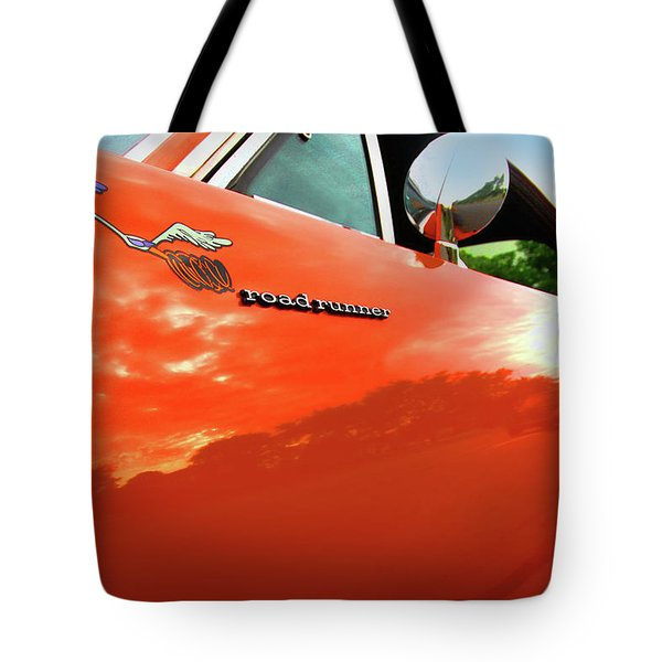 1969 Plymouth Road Runner 440 Roadrunner Tote Bag by Gordon Dean II