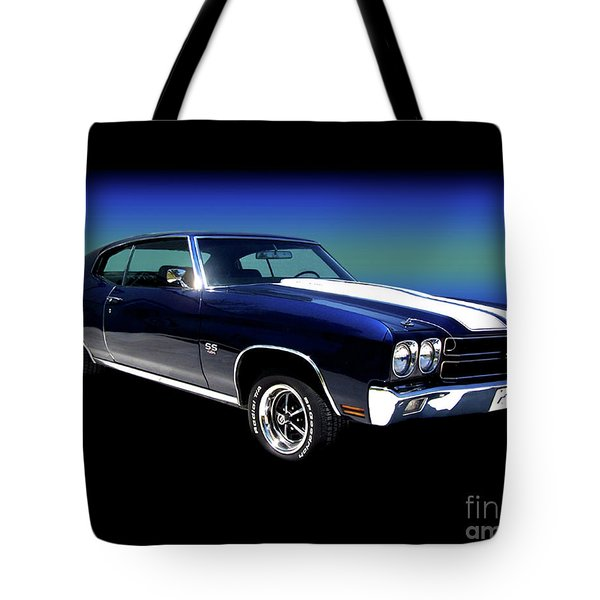 1970 Chevelle Ss Tote Bag by Peter Piatt