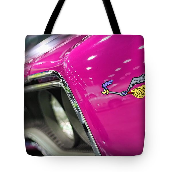 1970 Plymouth Road Runner Tote Bag by Gordon Dean II