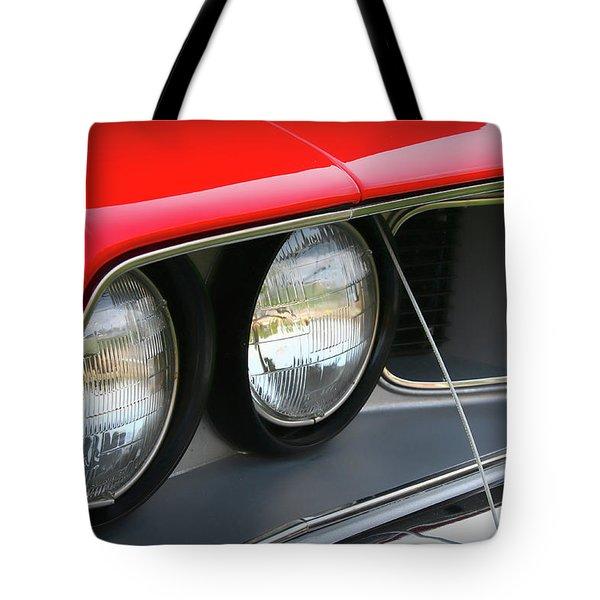 1971 Plymouth Barracuda Cuda Red  Tote Bag by Gordon Dean II