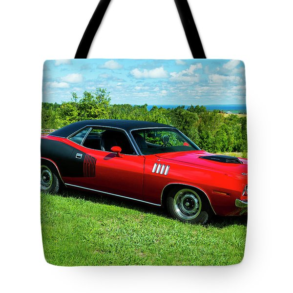 1971 Plymouth Tote Bag by Performance Image