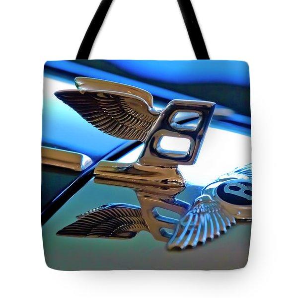 1980 Bentley Hood Ornament Tote Bag by Jill Reger