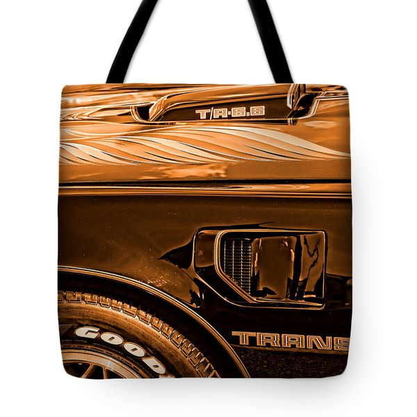 1980 Pontiac Trans Am Tote Bag by Gordon Dean II