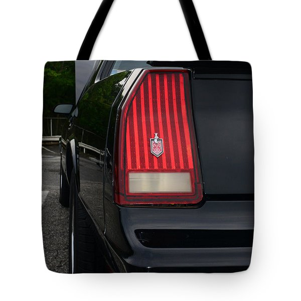 1988 Monte Carlo Ss Tail Light Tote Bag by Paul Ward