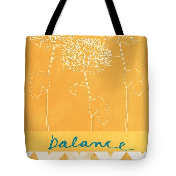 Balance Tote Bag by Linda Woods