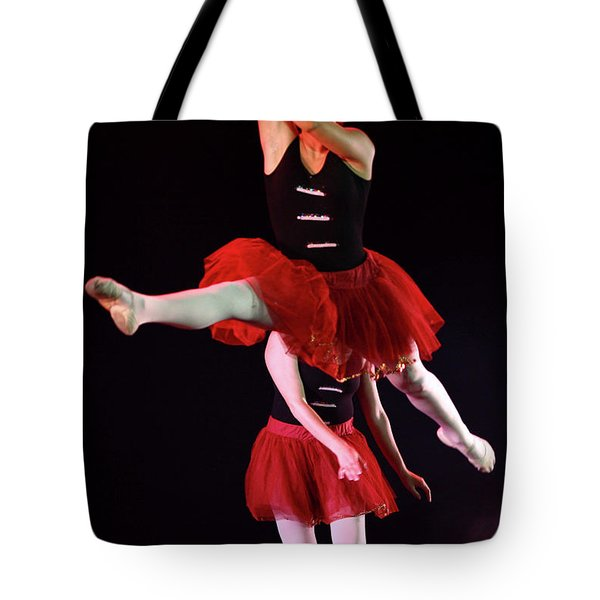 ballet performance  Tote Bag by Chen Leopold