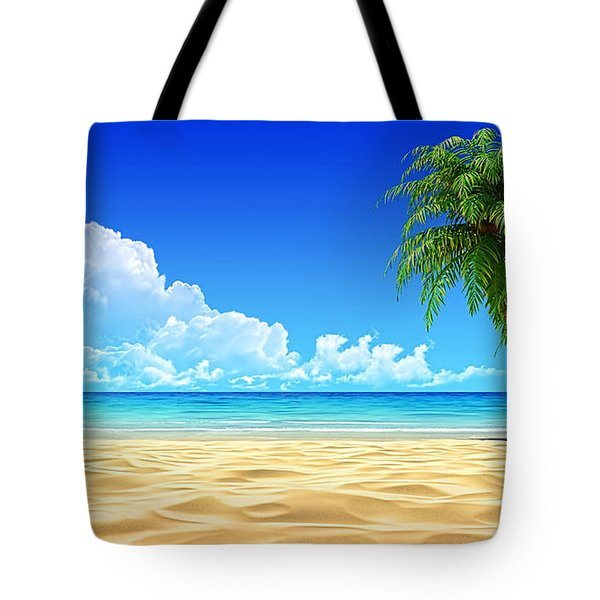 Beach Collection Tote Bag by Marvin Blaine