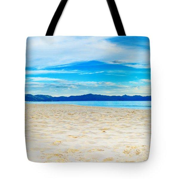 Beach Panorama Tote Bag by MotHaiBaPhoto Prints