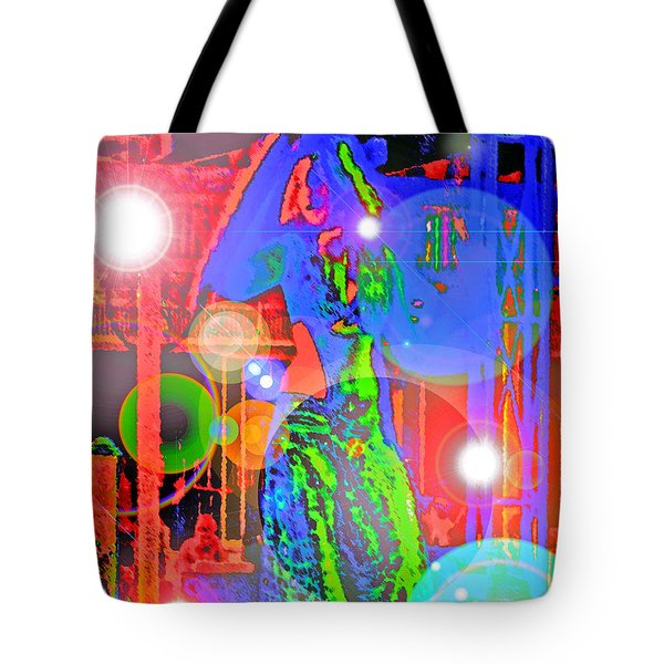Belly Dance Tote Bag by Andy Za