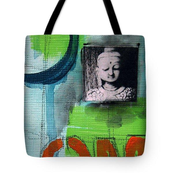 Buddha Tote Bag by Linda Woods