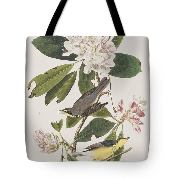 Canada Warbler Tote Bag by John James Audubon