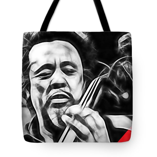 Charles Mingus Collection Tote Bag by Marvin Blaine