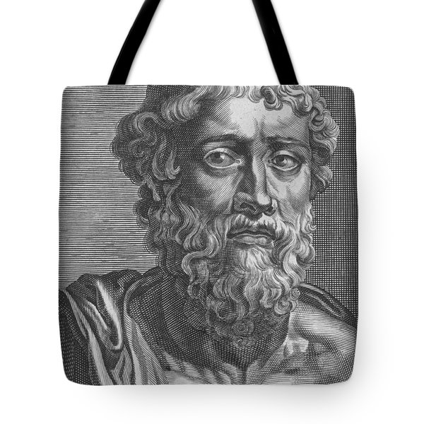 Demosthenes, Ancient Greek Orator Tote Bag by Photo Researchers
