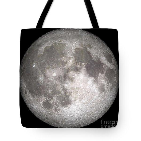 Full Moon Tote Bag by Stocktrek Images
