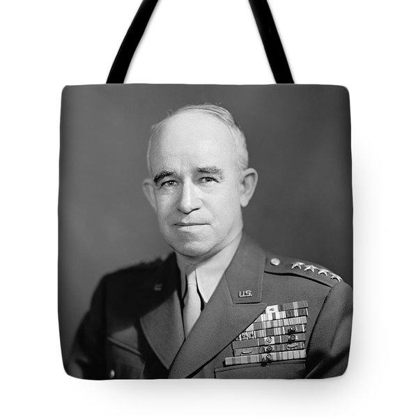 General Omar Bradley  Tote Bag by War Is Hell Store