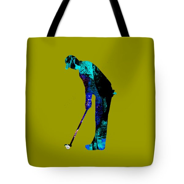Golf Collection Tote Bag by Marvin Blaine