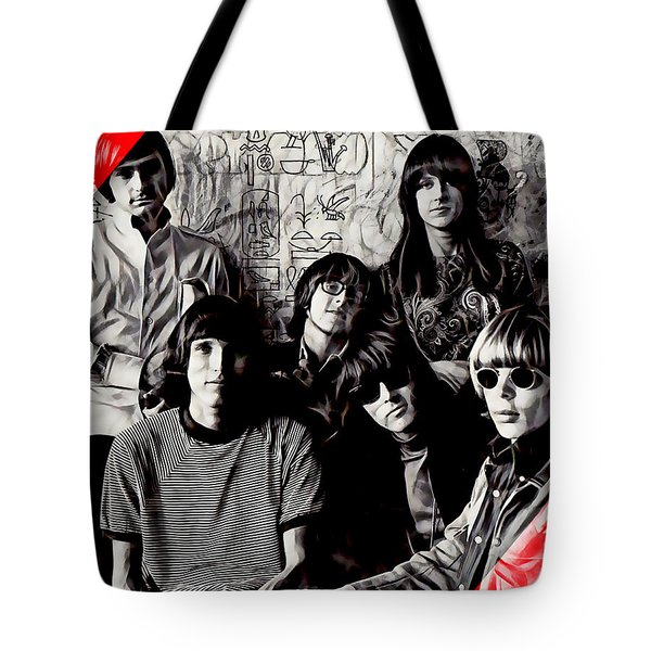 Jefferson Airplane Collection Tote Bag by Marvin Blaine