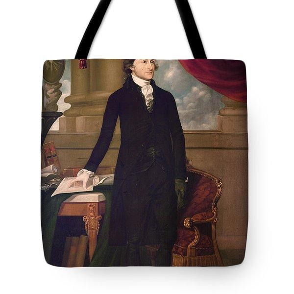 John Jay (1745-1829) Tote Bag by Granger