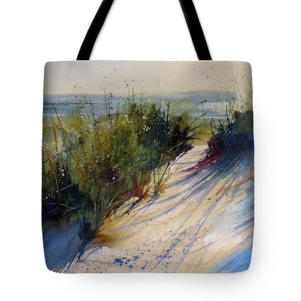 Lake Michigan Tote Bag by Sandra Strohschein