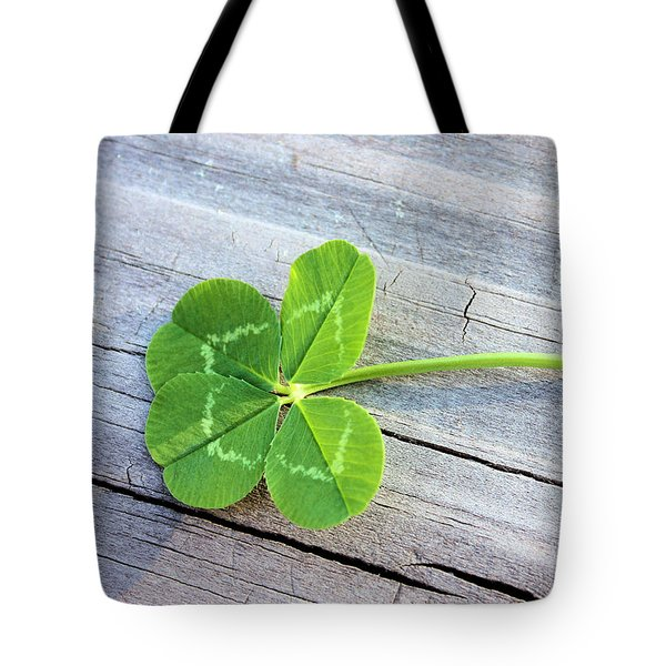 Lucky Tote Bag by Kristin Elmquist