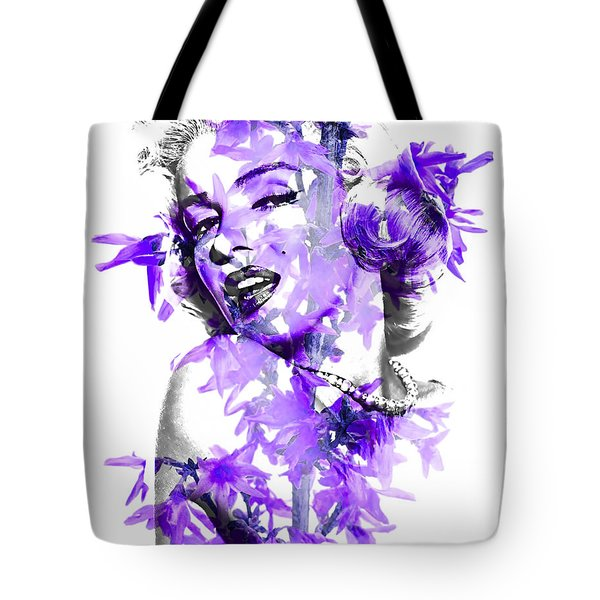 Marilyn Monroe Collection Tote Bag by Marvin Blaine