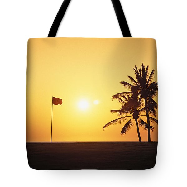 Mauna Kea Beach Resort Tote Bag by Carl Shaneff - Printscapes