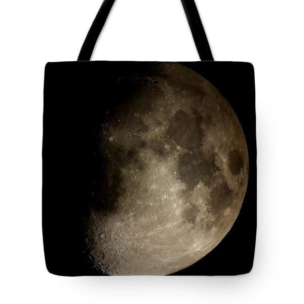 Moon Tote Bag by George Leask