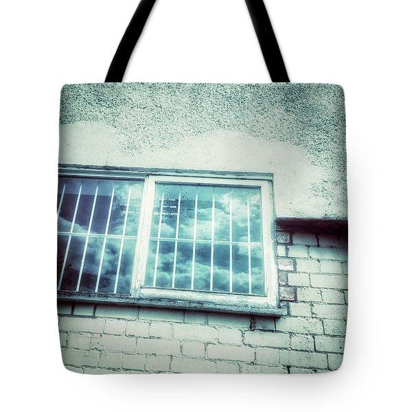 Old Window Bars Tote Bag by Tom Gowanlock