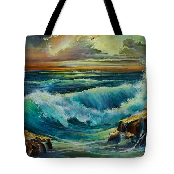 Seascape Tote Bag by Michael Lang