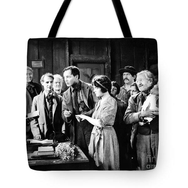 Silent Film Still: Wedding Tote Bag by Granger