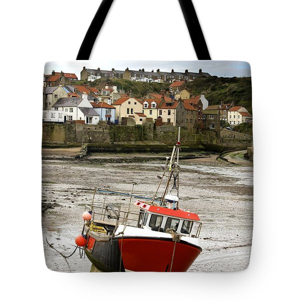 Staithes, North Yorkshire, England Tote Bag by John Short