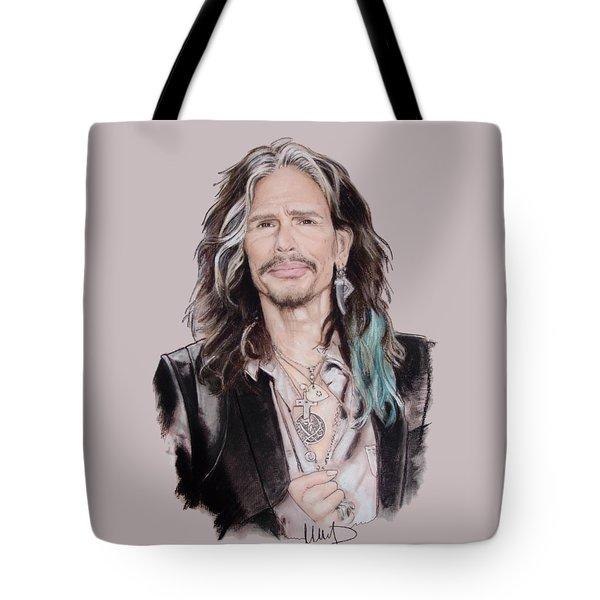 Steven Tyler  Tote Bag by Melanie D