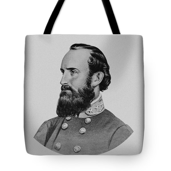 Stonewall Jackson Tote Bag by War Is Hell Store