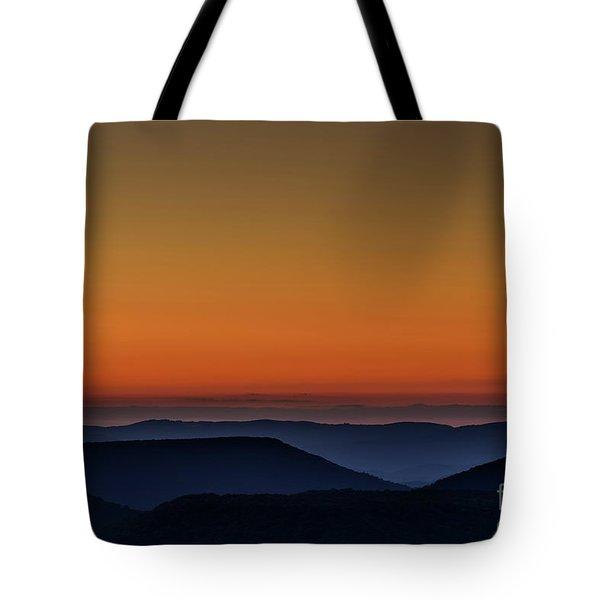 Summer Solstice Sunrise Tote Bag by Thomas R Fletcher