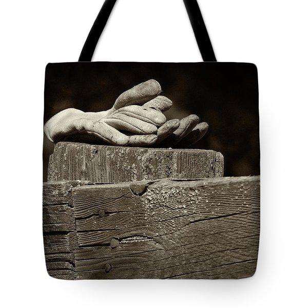 Taking A Break Tote Bag by Sandra Bronstein