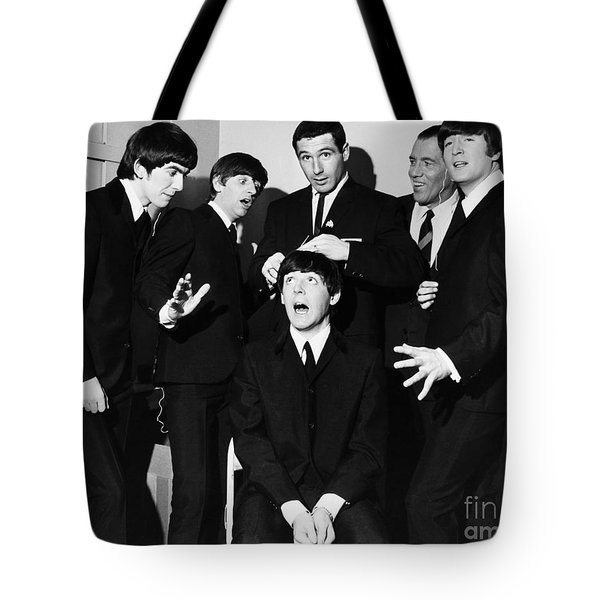 The Beatles, 1964 Tote Bag by Granger
