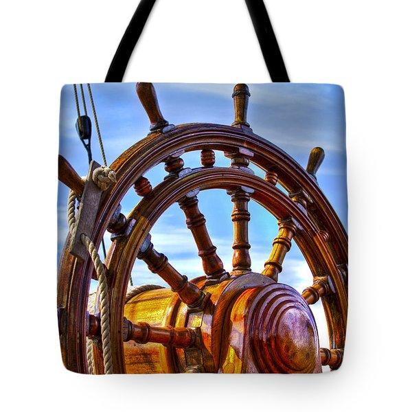 The Helm Tote Bag by Debra and Dave Vanderlaan