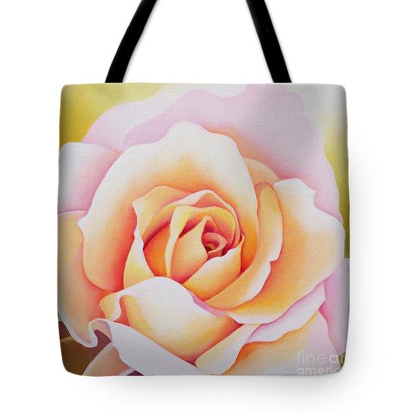 The Rose Tote Bag by Myung-Bo Sim