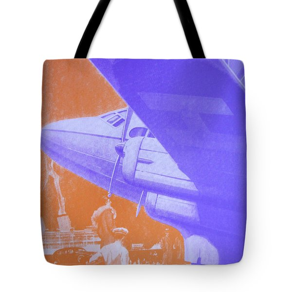 Travel Air Land Sea Tote Bag by David Studwell