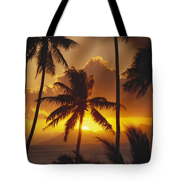 View Of Tahiti Tote Bag by Joe Carini - Printscapes